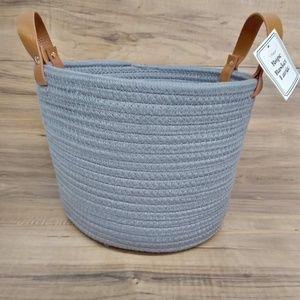 Light Gray Rope Basket